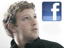 Director Facebook Mark Zuckerberg