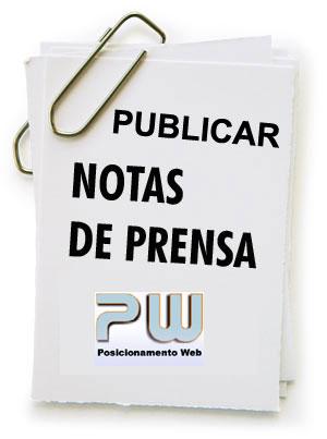 Publicar Notas de prensa