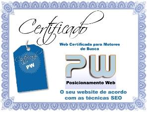 Certificado Motores Busca Seo